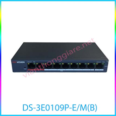 PoE Switch HIKVISION DS-3E0109P-E/M(B)