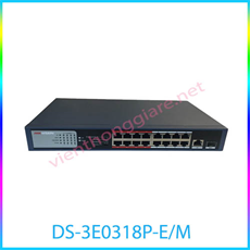 PoE Switch HIKVISION DS-3E0318P-E/M