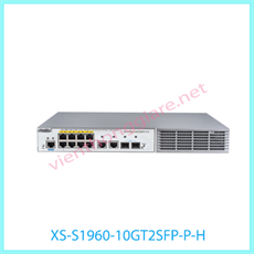 8-port 10/100/1000 Base-T Managed PoE Switch RUIJIE XS-S1960-10GT2SFP-P-H