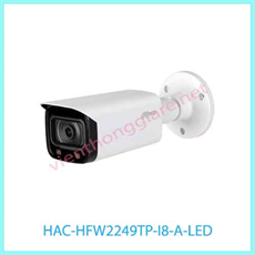 CAMERA DAHUA HAC-HFW2249TP-I8-A-LED