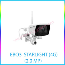 CAMERA IP EBIT CAM EBO3  STARLIGHT (4G) (2.0 MP)